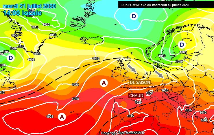 Image d'illustration pour Retour de l'été ce week-end avant un contraste nord-sud