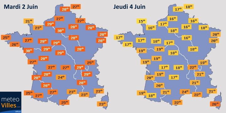 Image d'illustration pour Brutal rafraîchissement en France : pour combien de temps ?
