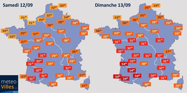 Image d'illustration pour Épisode de fortes chaleurs sur la France à partir du week-end