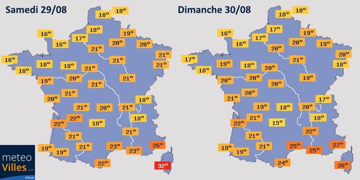Image d'illustration pour Instabilité et fraîcheur automnale en France pour la fin août