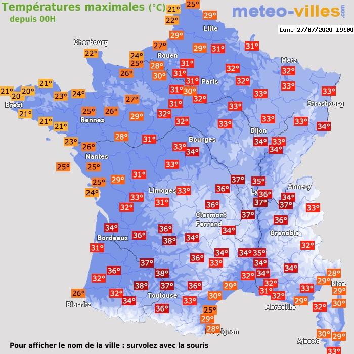 Image d'illustration pour Des pics de chaleur peu durables depuis le début de l'été