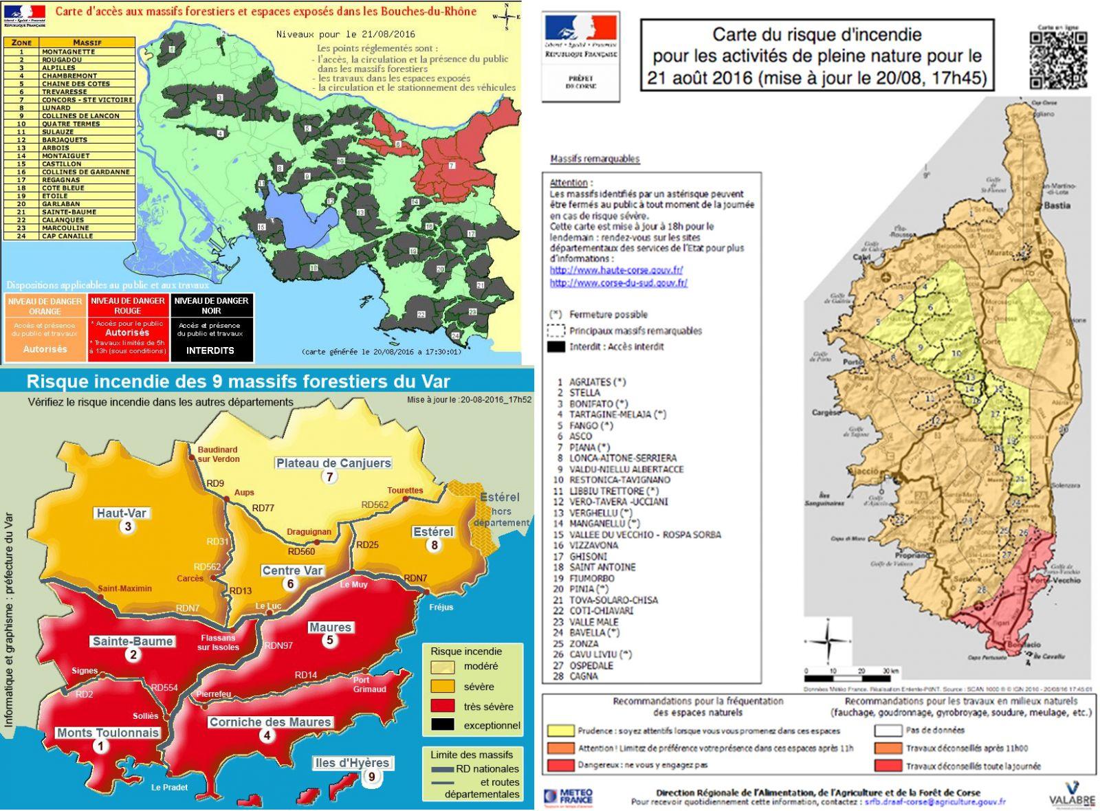 Image d'illustration pour Sécheresse : alerte aux incendies près de la Méditerranée