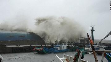 Image d'illustration pour Super typhon Meranti entre Taïwan et Chine