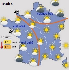 Image d'illustration pour Vent & fraîcheur sur la France - Neige sur l'Europe de l'Est