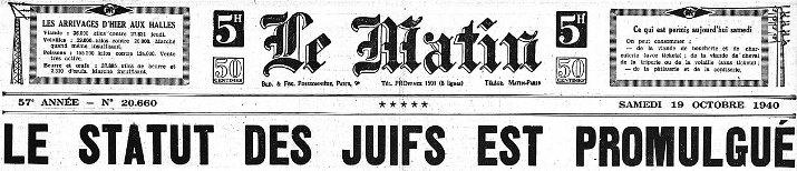 Image d'illustration pour Aiguat d'octobre 1940 en temps de guerre