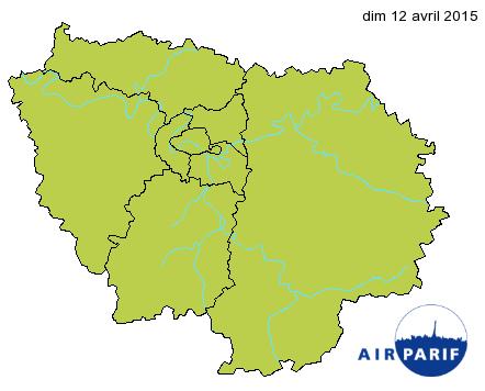Image d'illustration pour Météo et qualité de l'air pour le marathon de Paris