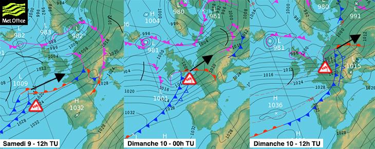 Image d'illustration pour Nouveau risque de tempête sur l'extrême Nord ce dimanche