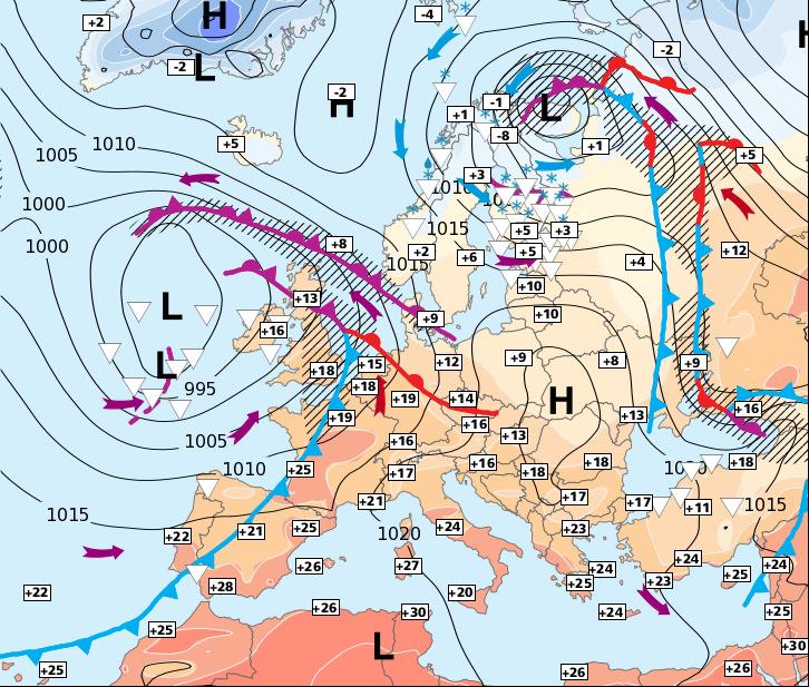 Image d'illustration pour Europe : doux au Sud et à l'Ouest - neigeux et froid en Scandinavie
