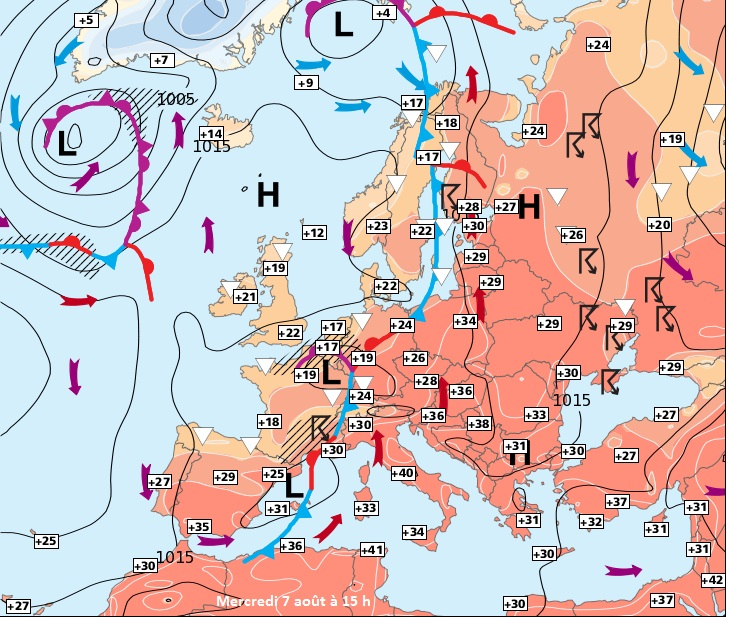 Image d'illustration pour Forte chaleur : plus de 40°C en Corse