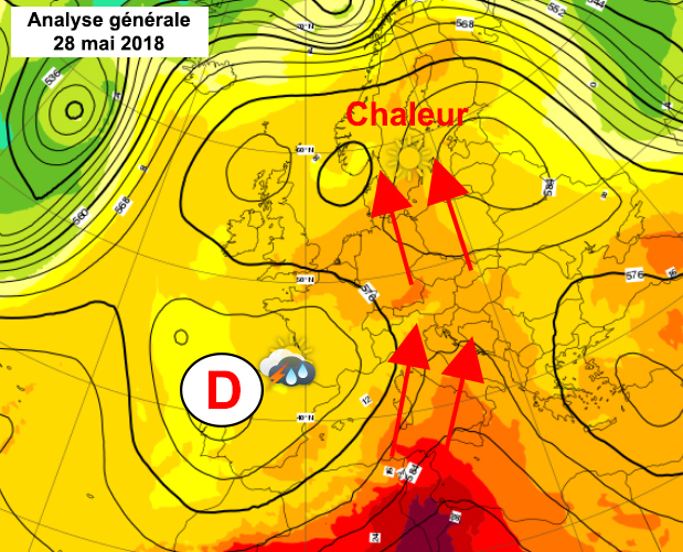 Image d'illustration pour Chaleur : mois de mai historique en Scandinavie