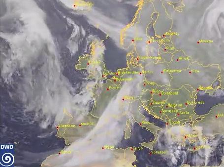 Image d'illustration pour Animation satellite de janvier 2014 en Europe