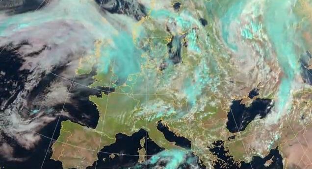 Image d'illustration pour Animation satellite de septembre 2013 en Europe