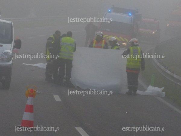 Image d'illustration pour Anticyclone et brouillard : plusieurs accidents mortels
