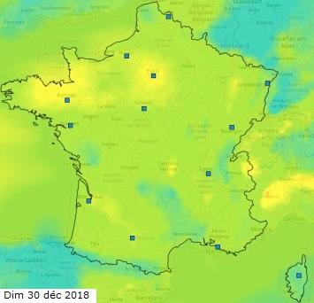 Image d'illustration pour Anticyclone Hugo : gel et pollution sous l'inversion