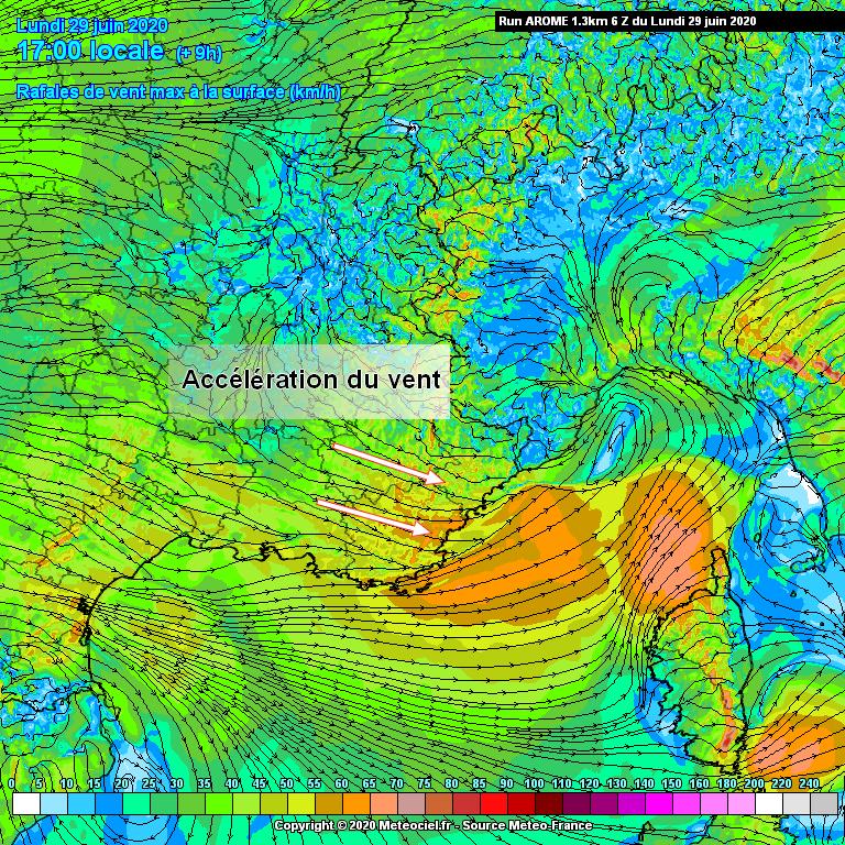 Image d'illustration pour Effet de foehn sur la Côte d'Azur : un phénomène typique de la région