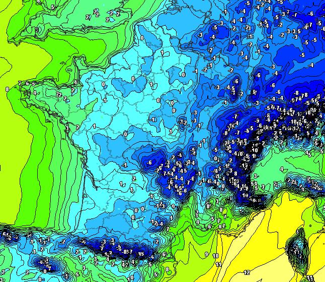 Image d'illustration pour Première vague de froid depuis 2013