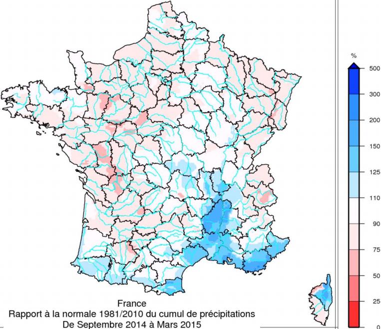 Image d'illustration pour Premiers arrêtés de sécheresse en surface en Charente