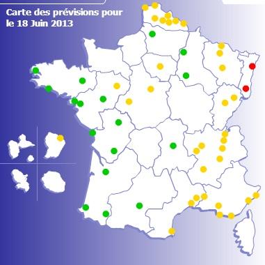 Image d'illustration pour Pics de pollution en France et en Europe