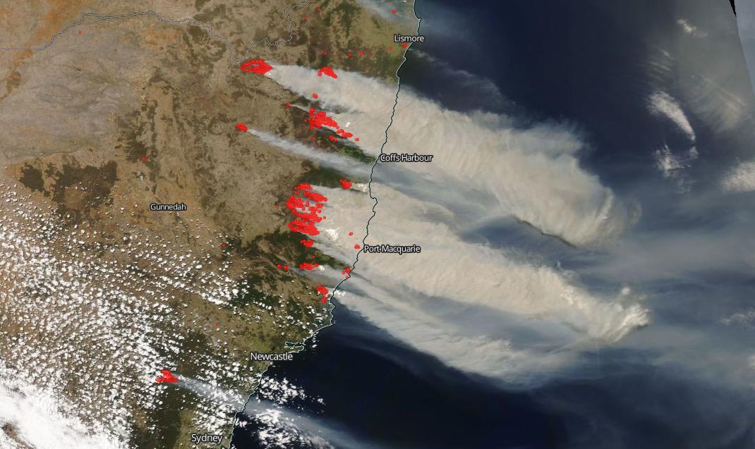 Image d'illustration pour Les incendies en Australie sont-ils liés au réchauffement climatique ?