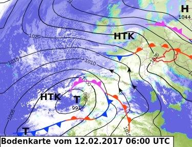 Image d'illustration pour Records de douceur sous une tempête d'autan