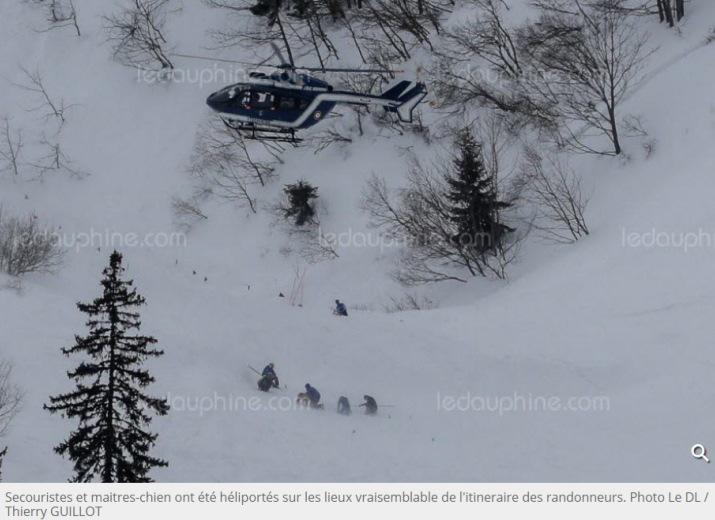 Image d'illustration pour Dramatiques avalanches sur les Alpes et les Pyrénées