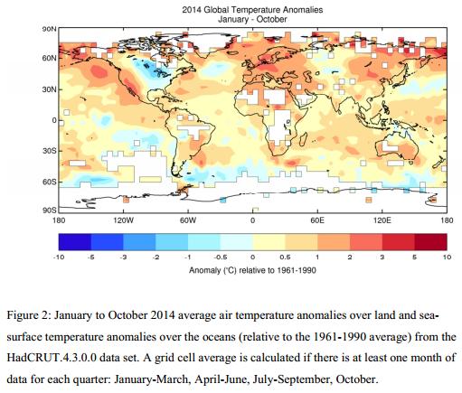 Image d'illustration pour 2014 : vers l'année la plus chaude ?