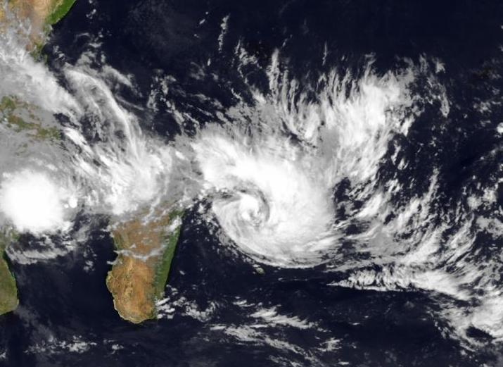 Image d'illustration pour Cyclone Bansi sur l'Océan Indien - Vigilance sur La Réunion
