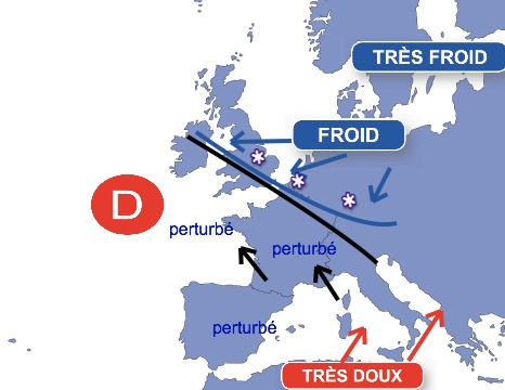 Image d'illustration pour Fin mars 2013 : neige et froid exceptionnels en Europe du Nord