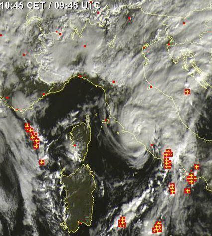 Image d'illustration pour Dépression Xandra en Méditerranée : quasi subtropicale !
