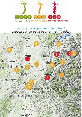 Image d'illustration pour Pollution aux particules fines en Rhône-Alpes