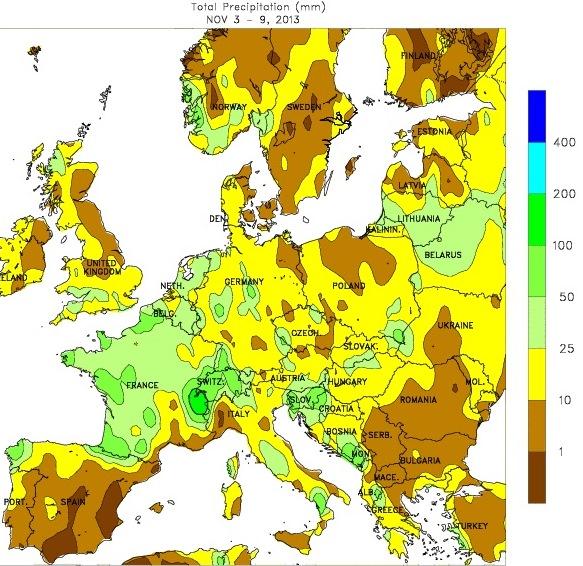 Image d'illustration pour Bilan météo hebdomadaire en France et en Europe
