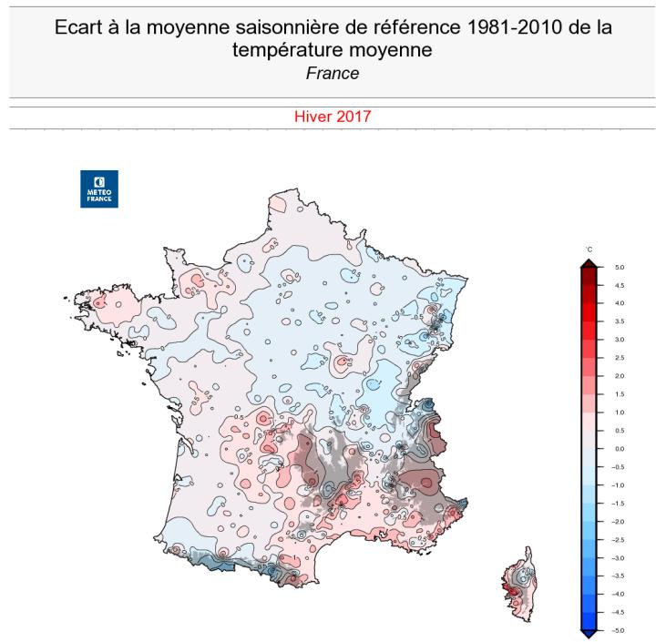 Image d'illustration pour Un hiver très sec aux températures contrastées
