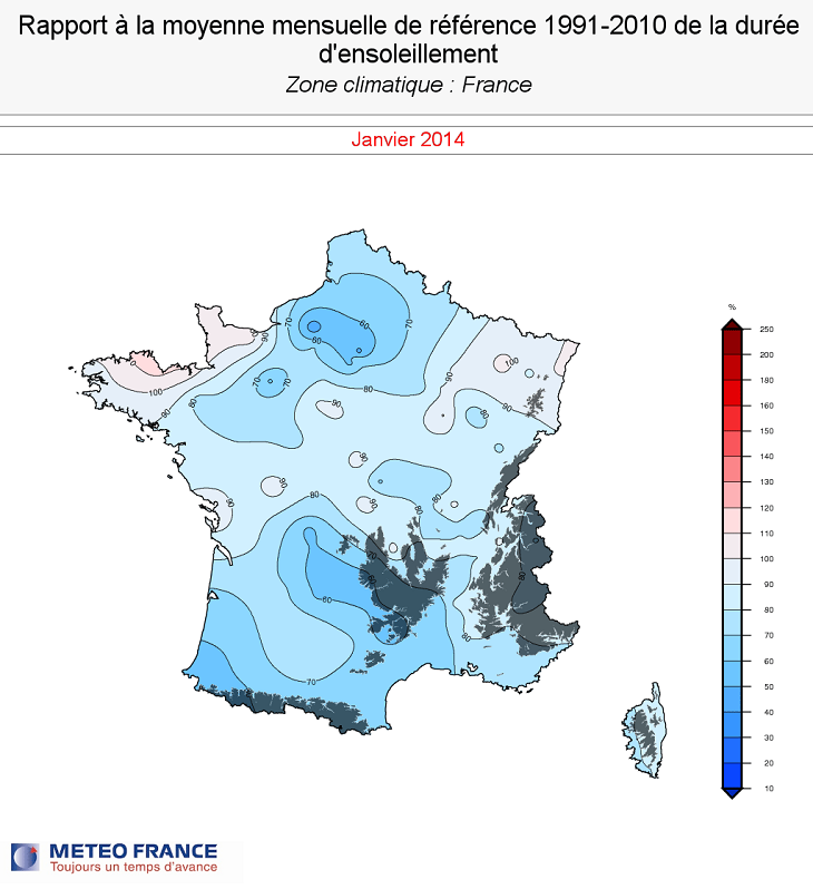 Image d'illustration pour Records de douceur et de pluviométrie en janvier
