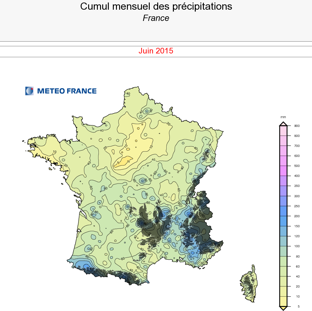 Image d'illustration pour Bilan météo de juin : chaud, ensoleillé aux précipitations contrastées