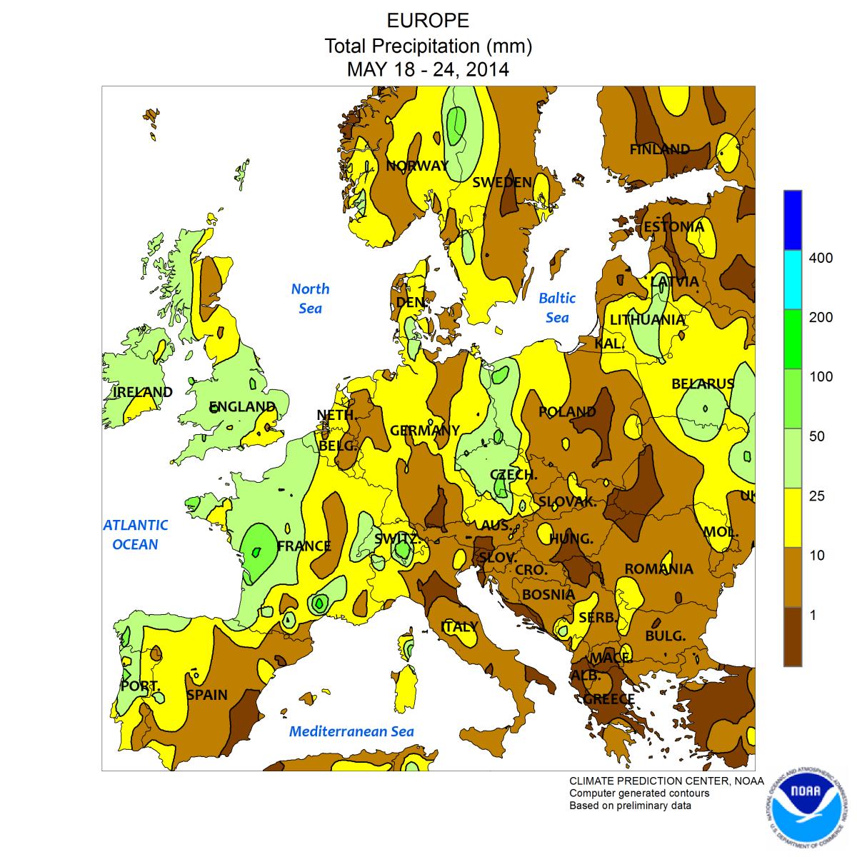 Image d'illustration pour Bilan hebdo en Europe : très chaud entre Russie et Scandinavie