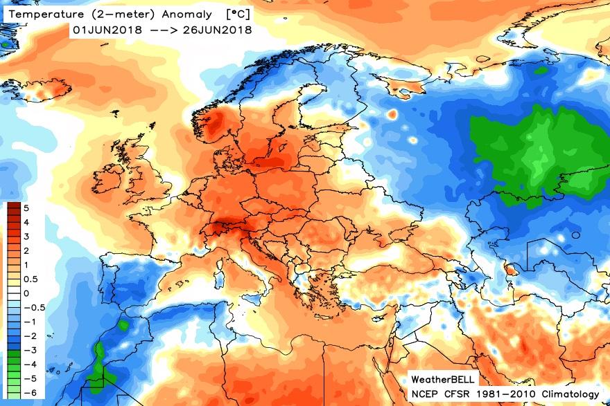 Image d'illustration pour Pré-bilan de juin : souvent chaud, humide et orageux