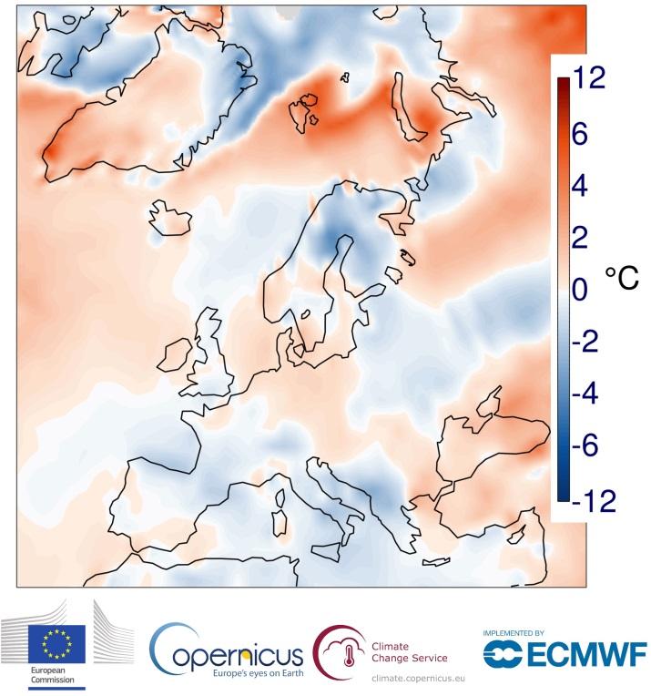 Image d'illustration pour Janvier 2019 plus chaud que la normale dans le Monde