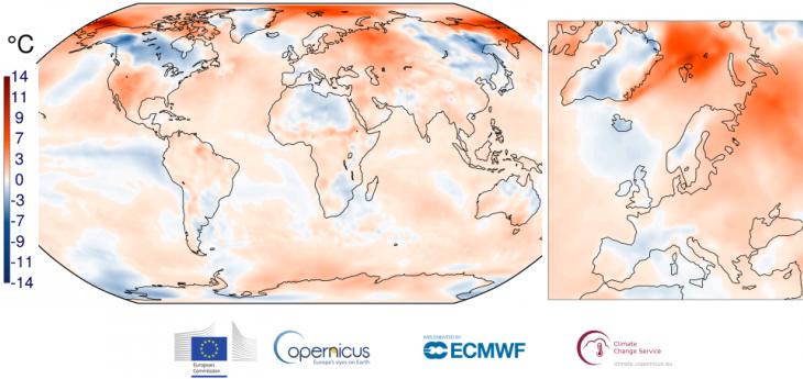 Image d'illustration pour Novembre 2017 en 3ème place des plus chauds sur la planète