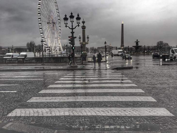 Image d'illustration pour Bilan météo de mars à Paris : doux et assez pluvieux