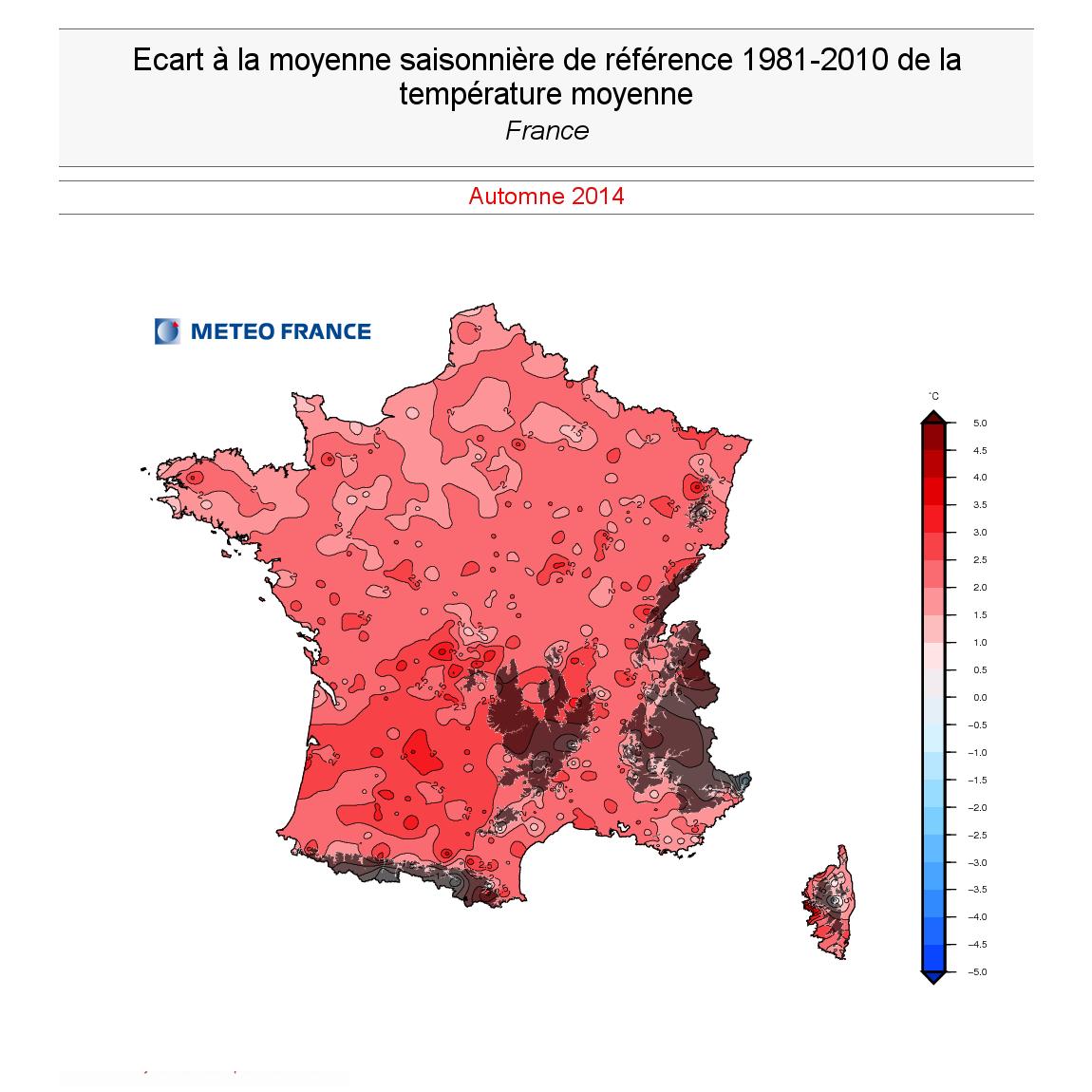 Image d'illustration pour Automne 2014 : douceur et pluies remarquables en Méditerranée