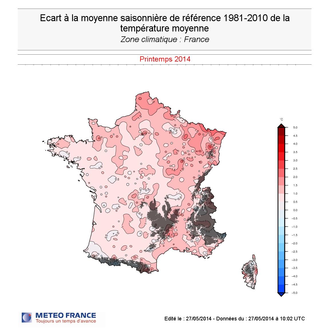 Image d'illustration pour Pré-bilan du printemps 2014 : doux et ensoleillé au NOrd-Est