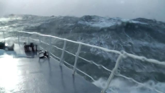 Image d'illustration pour Les tempêtes filmées depuis un chalutier à l'Est des Cornouailles