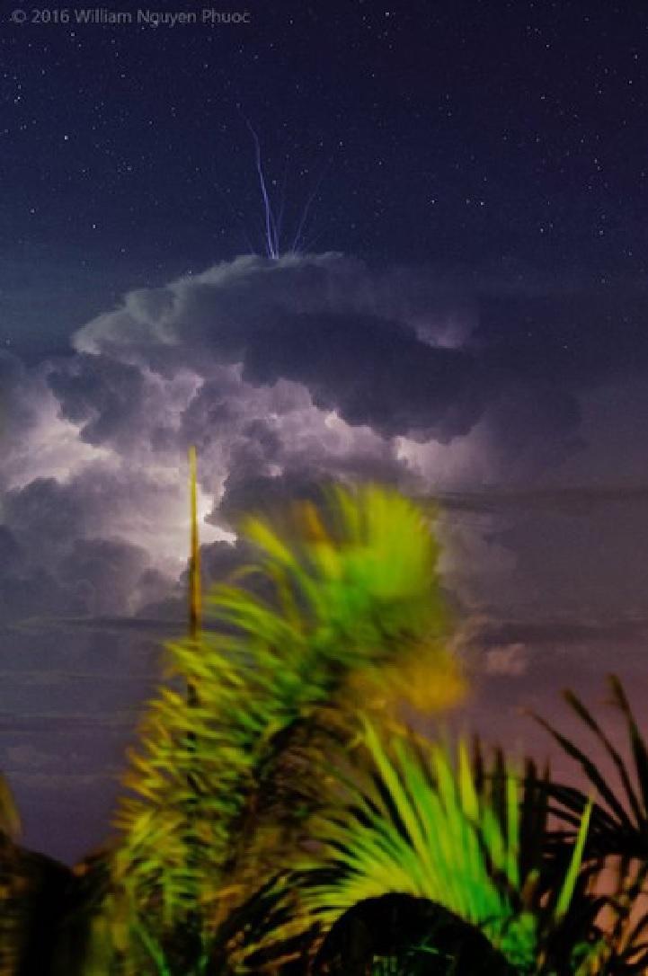 Image d'illustration pour phénomènes orageux - les TLE