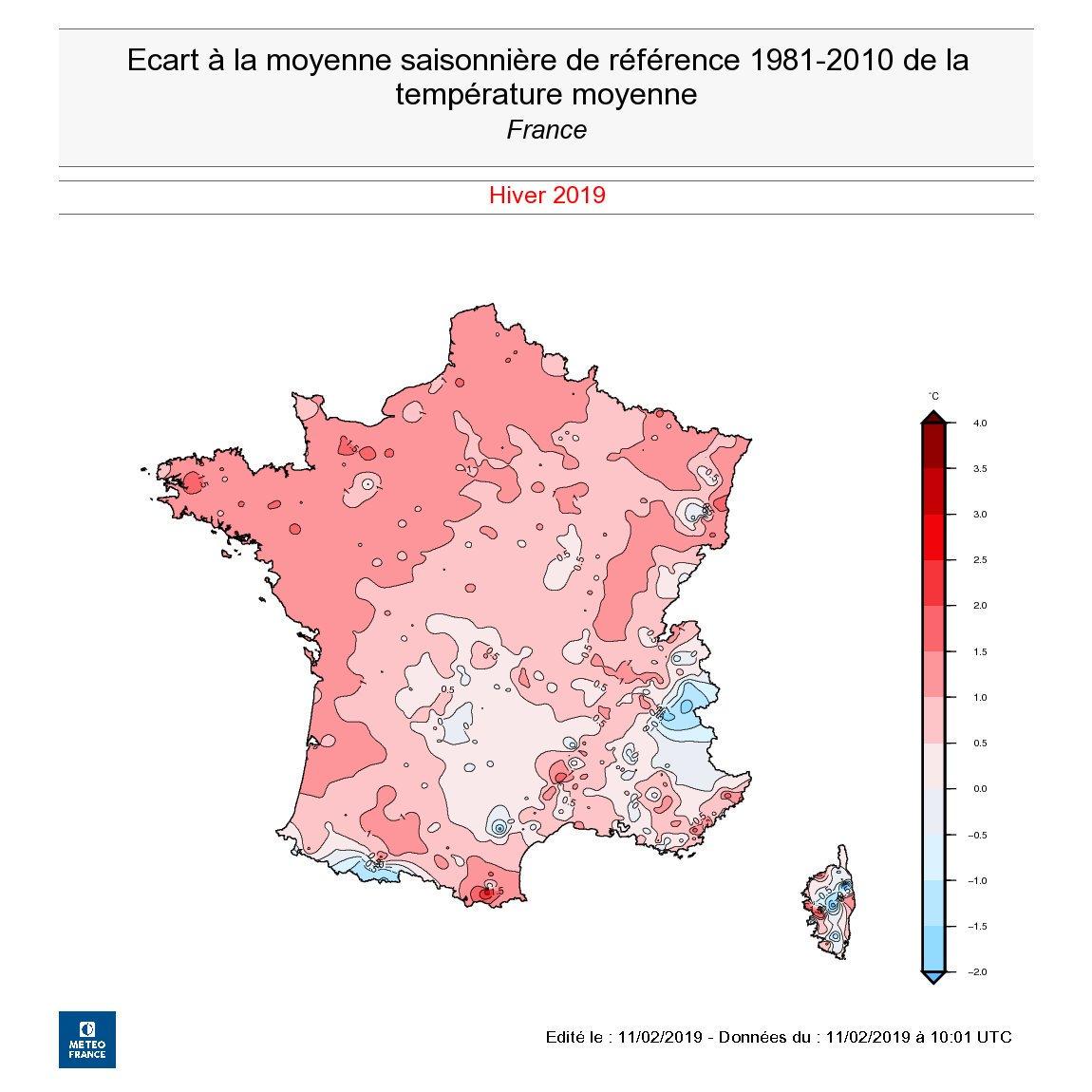 Image d'illustration pour Vers un hiver 2018 / 2019 assez doux en France ?