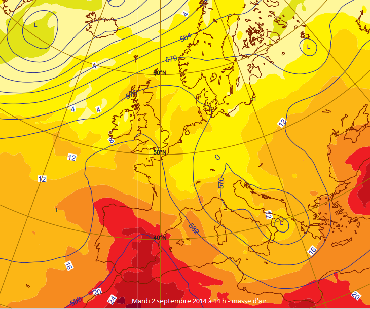 Image d'illustration pour Records de chaleur en Espagne