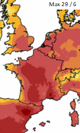 Image d'illustration pour Canicule exceptionnelle - Vigilance, prévisions météo & suivi