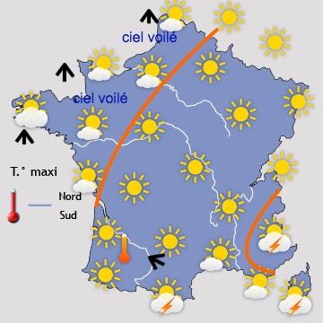 Meteo clermont ferrand 63000 fr 1er site meteo pour clermont ferrand et sa r gion - Meteo rennes samedi ...