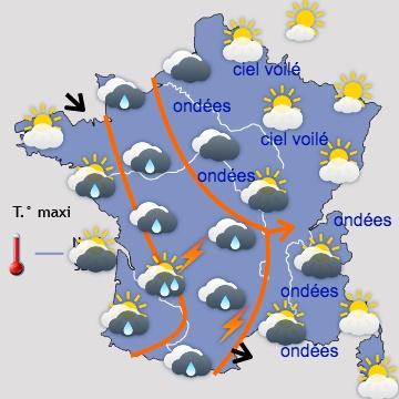 Météo en France J+3