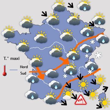 prévision météo France sur 6 jours météopassion