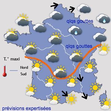 Image d'illustration pour Prévisions météo détaillées pour le pont de l'Ascension